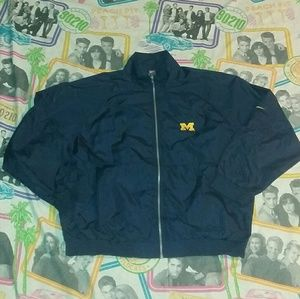 90s Nike Michigan Wolverines Track Jacket
